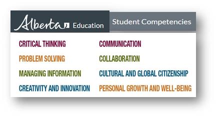 Alberta Education Student Competencies