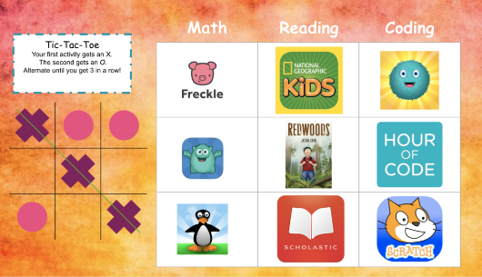 7 Choice Board Examples for Remote Learning | Kodable Blog