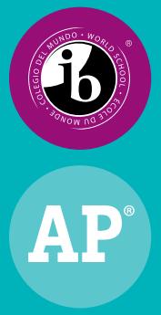 IB and AP Logo Images