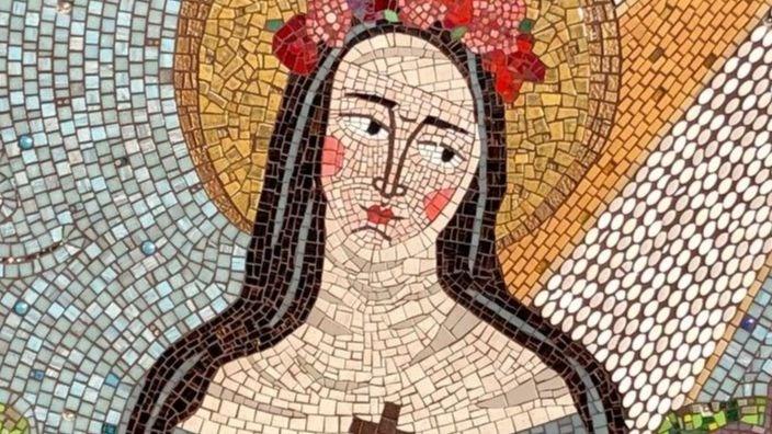 St. Rose of Lima Mosaic